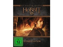 Der Hobbit Trilogie Extended Edition 15 BR3Ds inkl Digital Ultraviolet