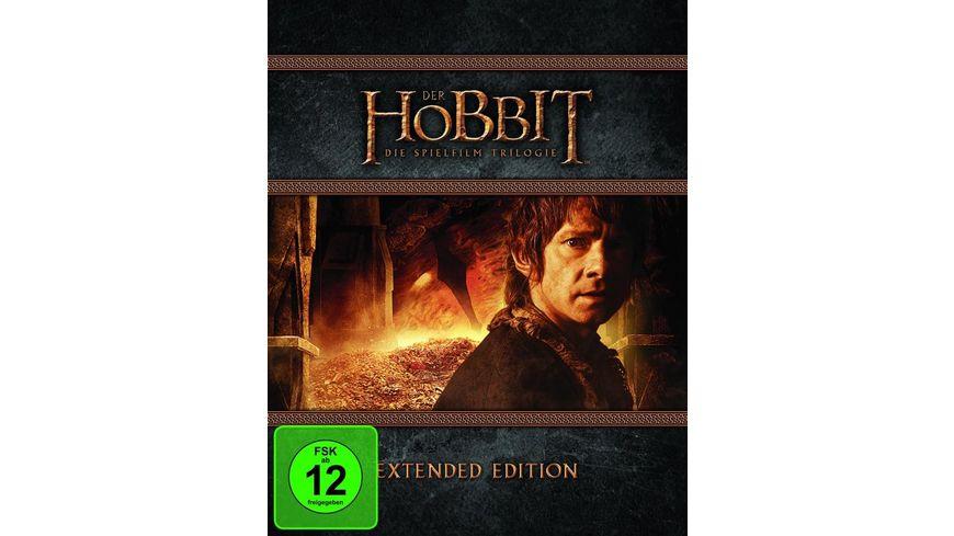 Der Hobbit Trilogie Extended Edition 9 BRs inkl Digital Ultraviolet