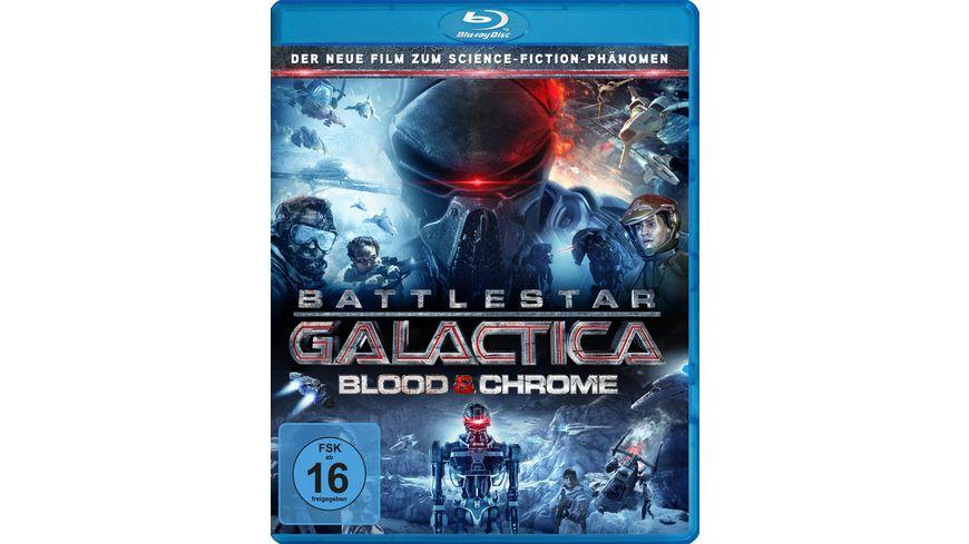 Battlestar Galactica Blood Chrome