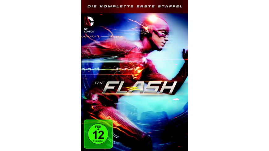 The Flash Die komplette 1 Staffel 5 DVDs