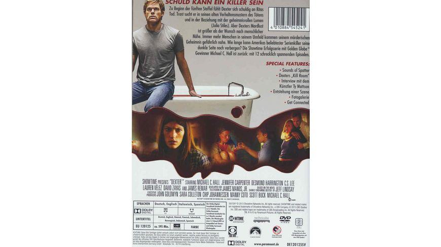 Dexter Die fuenfte Season 4 DVDs