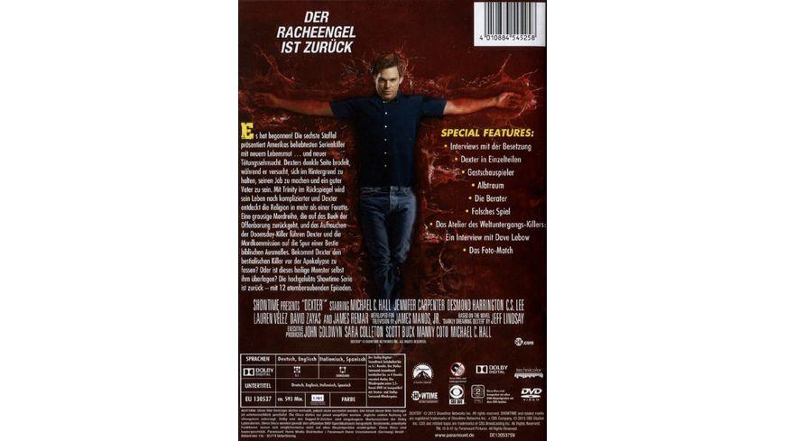 Dexter Die sechste Season 4 DVDs
