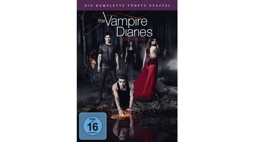 The Vampire Diaries Staffel 5 5 DVDs