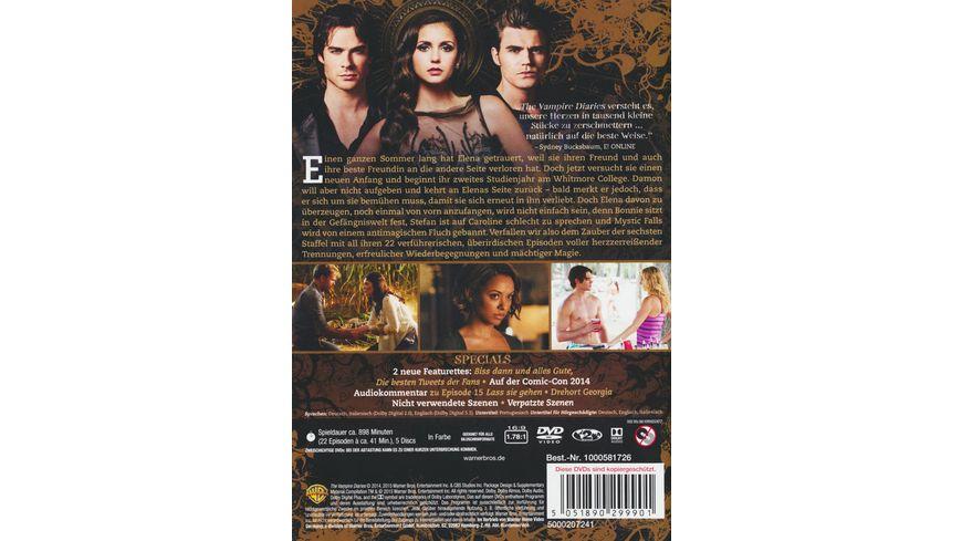 The Vampire Diaries Staffel 6 5 DVDs