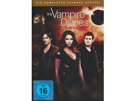 The Vampire Diaries Staffel 6 5 DVDs