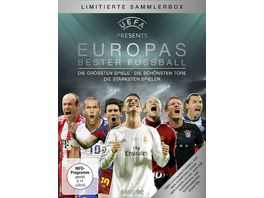 UEFA praesentiert Europas bester Fussball 5 DVDs