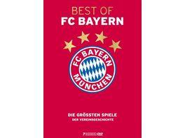 Best of FC Bayern Muenchen Die groessten Spiele der Vereinsgeschichte 1965 2017 Gold Edition 7 DVDs
