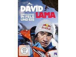 David Lama Grenzgaenger in Fels und Eis