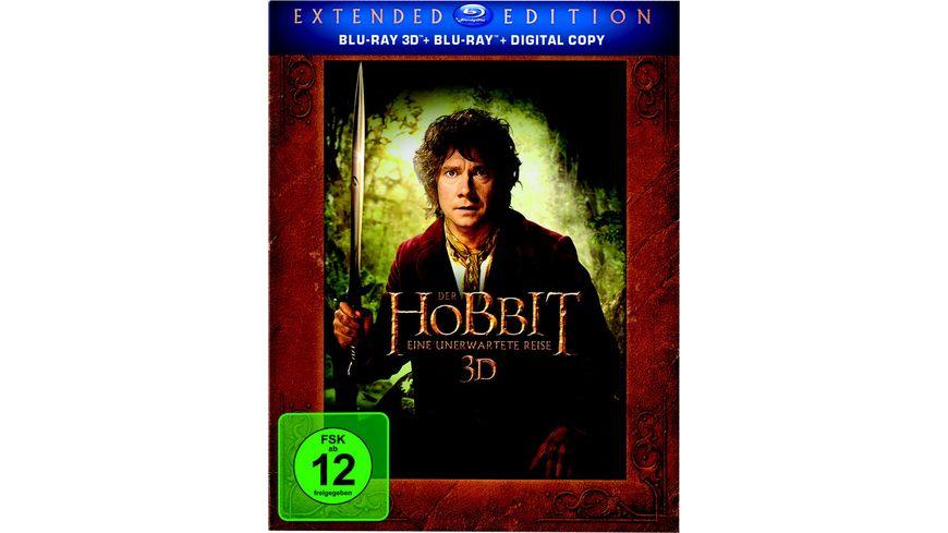 Der Hobbit Eine unerwartete Reise Extended Edition 2 BR3Ds Blu ray 2 Bonus Blu rays