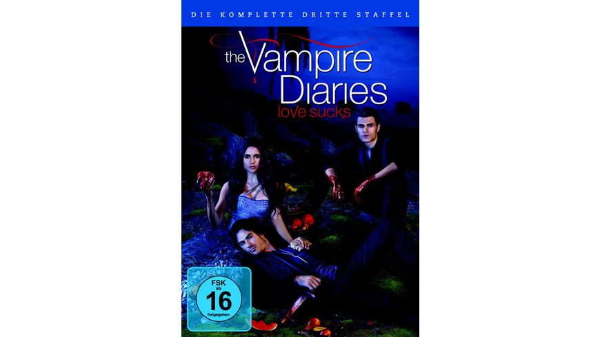 The Vampire Diaries Staffel 3 5 DVDs