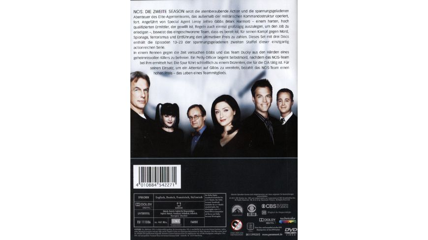 NCIS Naval Criminal Investigate Service Season 2 2 3 DVDs