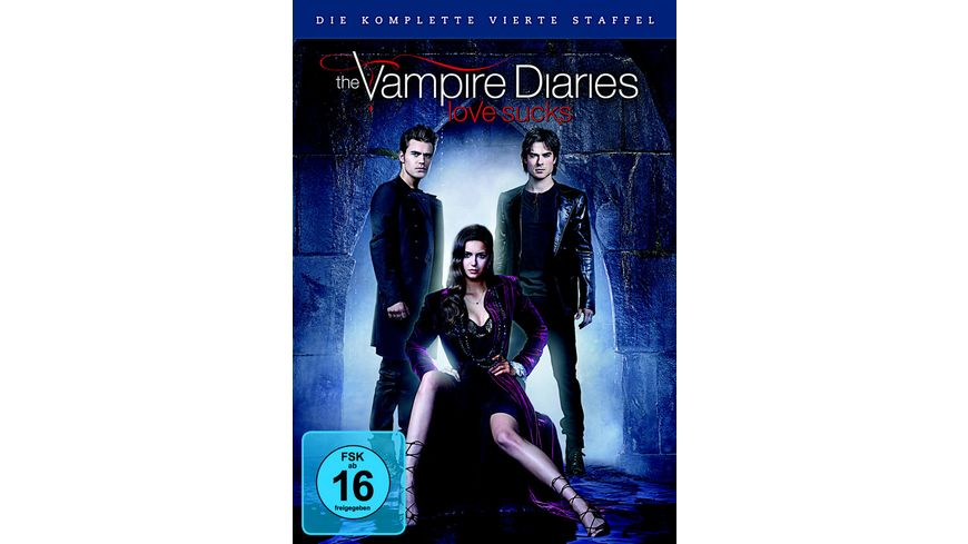 The Vampire Diaries St 4 5 DVDs