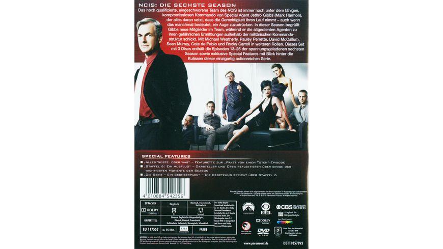 NCIS Naval Criminal Investigate Service Season 6 2 3 DVDs