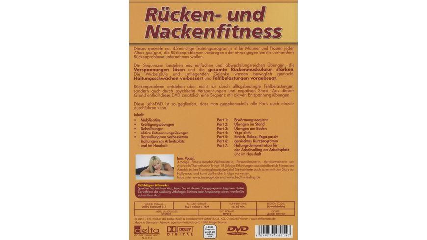 Ruecken und Nackenfitness