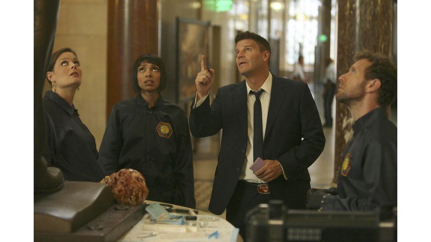 Bones Season 7 4 DVDs