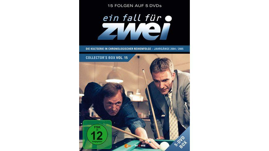 Ein Fall fuer Zwei Collector s Box 15 5 DVDs
