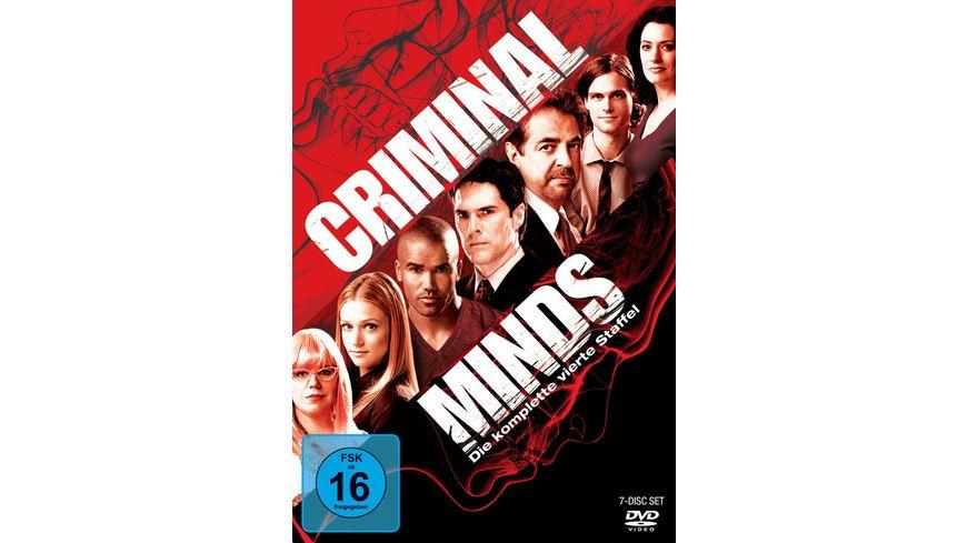 Criminal Minds Die komplette vierte Staffel 7 DVDs