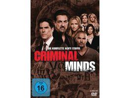 Criminal Minds Die komplette achte Staffel 5 DVDs