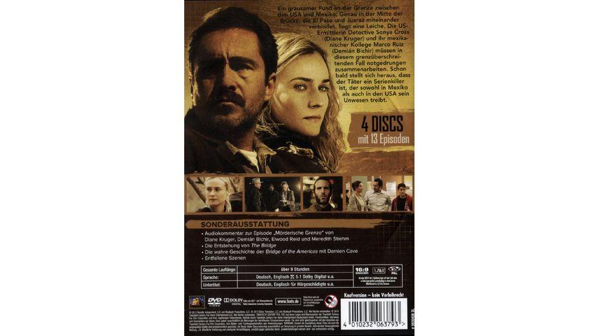 The Bridge America Season 1 4 DVDs