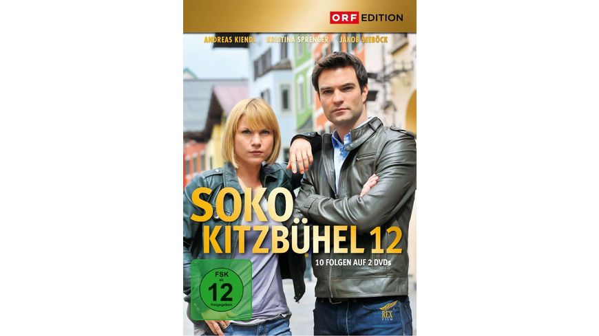 SOKO Kitzbuehel Box 12 2 DVDs