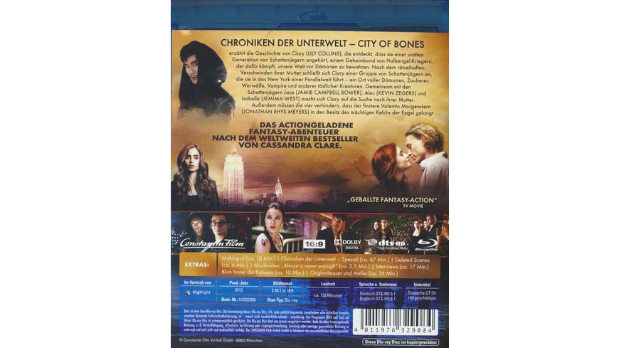 Chroniken der Unterwelt City of Bones