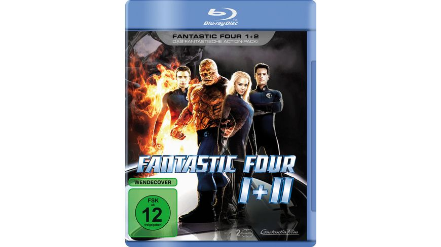 Fantastic Four Teil 1 2 2 BR LE