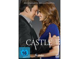 Castle Staffel 6 6 DVDs