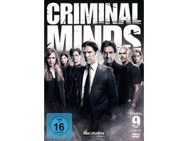 Criminal Minds Die komplette neunte Staffel 5 DVDs