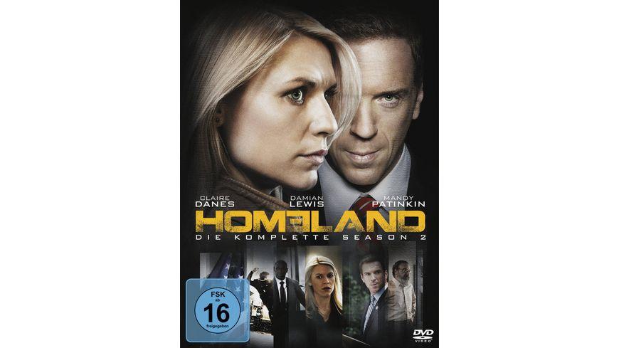 Homeland Season 2 4 DVDs
