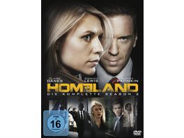 Homeland Season 2 4 DVDs