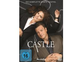 Castle Staffel 7 6 DVDs