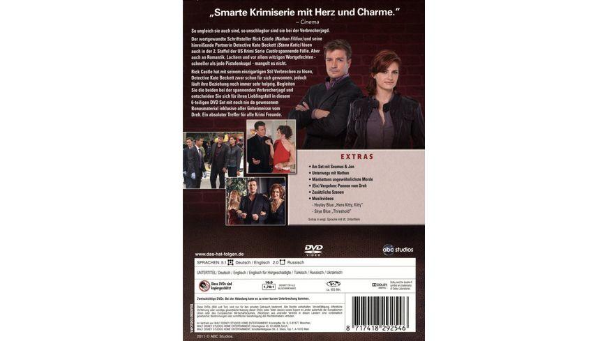 Castle Staffel 2 6 DVDs