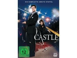 Castle Staffel 2 6 DVDs