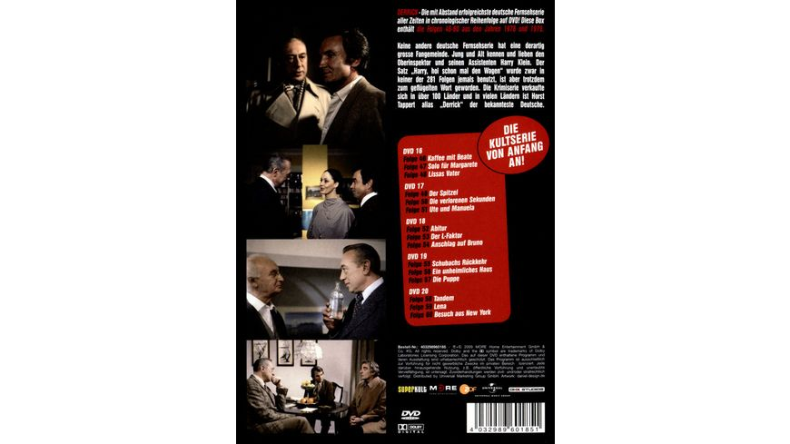 Derrick Collector s Box 4 5 DVDs