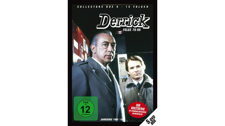 Derrick Collector s Box 6 5 DVDs