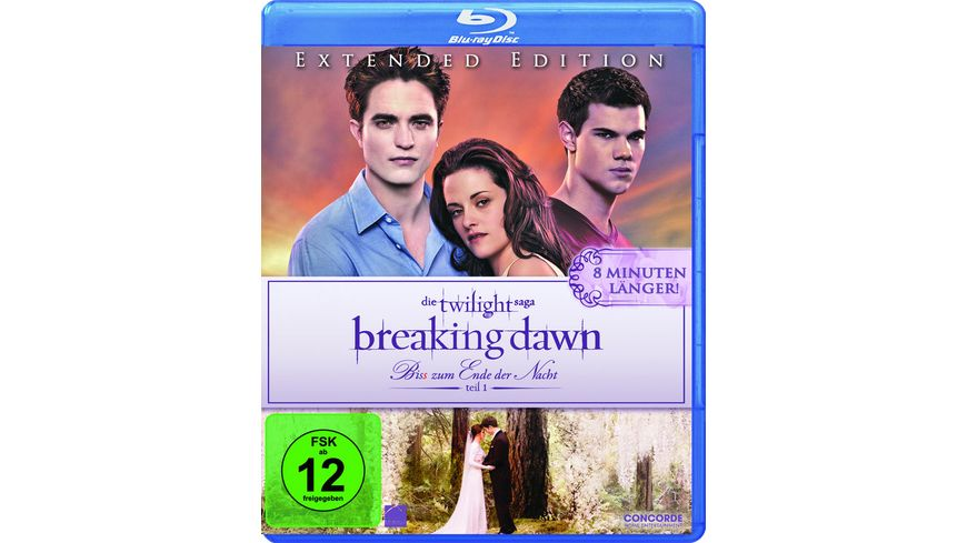 Breaking Dawn Biss zum Ende der Nacht Teil 1 Extended Edition
