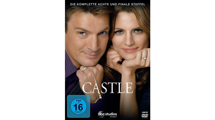 Castle Staffel 8 6 DVDs
