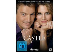 Castle Staffel 8 6 DVDs