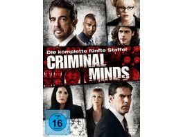 Criminal Minds Die komplette fuenfte Staffel 6 DVDs