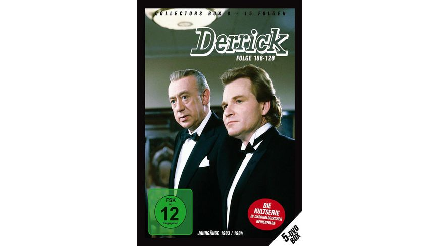 Derrick Collector s Box 8 5 DVDs