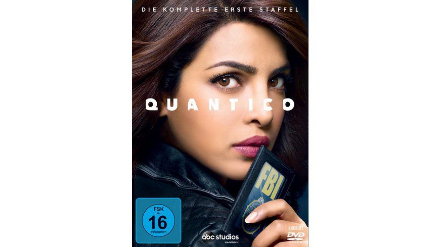 Quantico Die komplette erste Staffel 6 DVDs