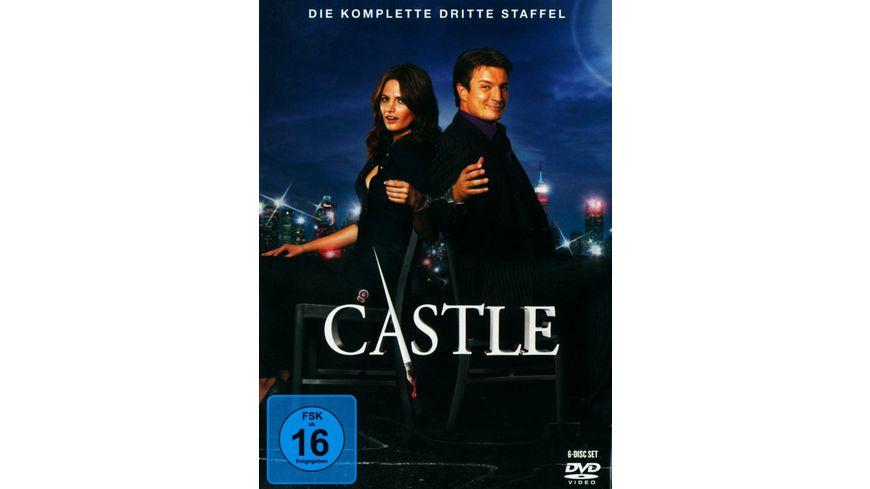 Castle Staffel 3 6 DVDs