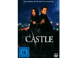 Castle Staffel 3 6 DVDs