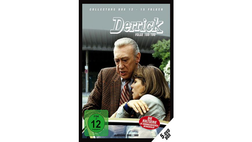 Derrick Collector s Box 12 5 DVDs