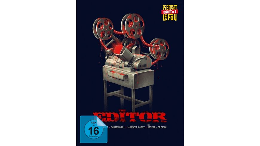 The Editor Uncut Mediabook DVD LE