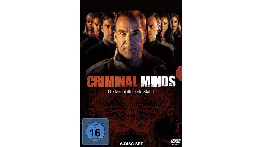 Criminal Minds Die komplette erste Staffel 6 DVDs