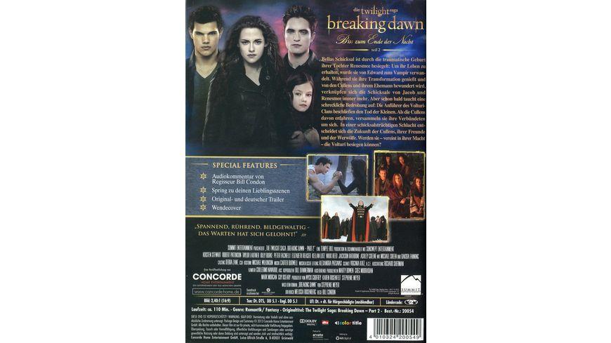 Breaking Dawn Biss zum Ende der Nacht 2