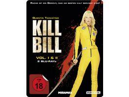 Kill Bill Volume 1 2 Steelbook 2 BRs