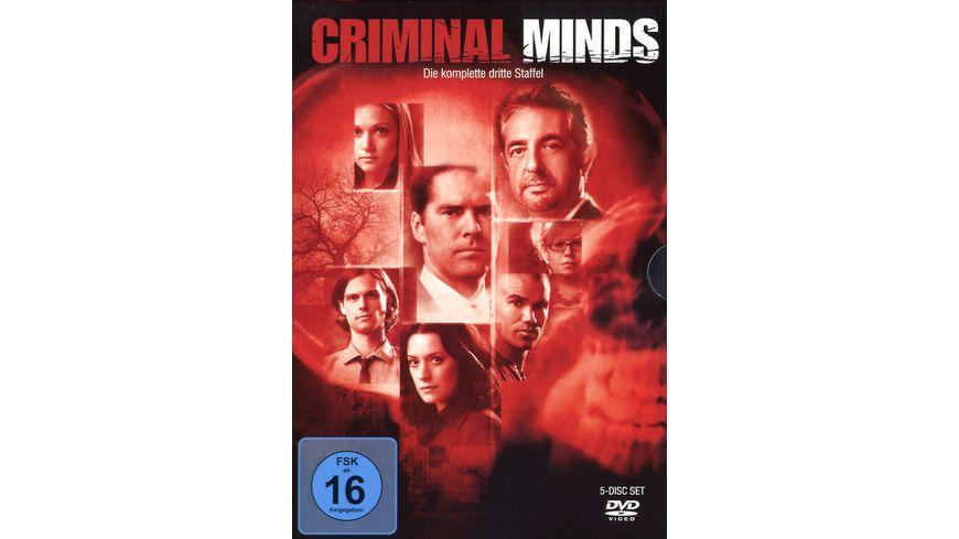 Criminal Minds Die komplette dritte Staffel 5 DVDs