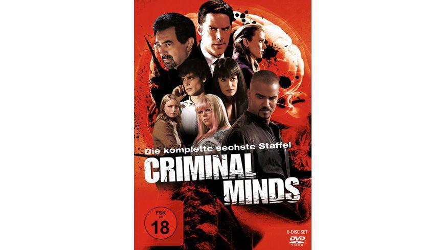 Criminal Minds Die komplette sechste Staffel 6 DVDs